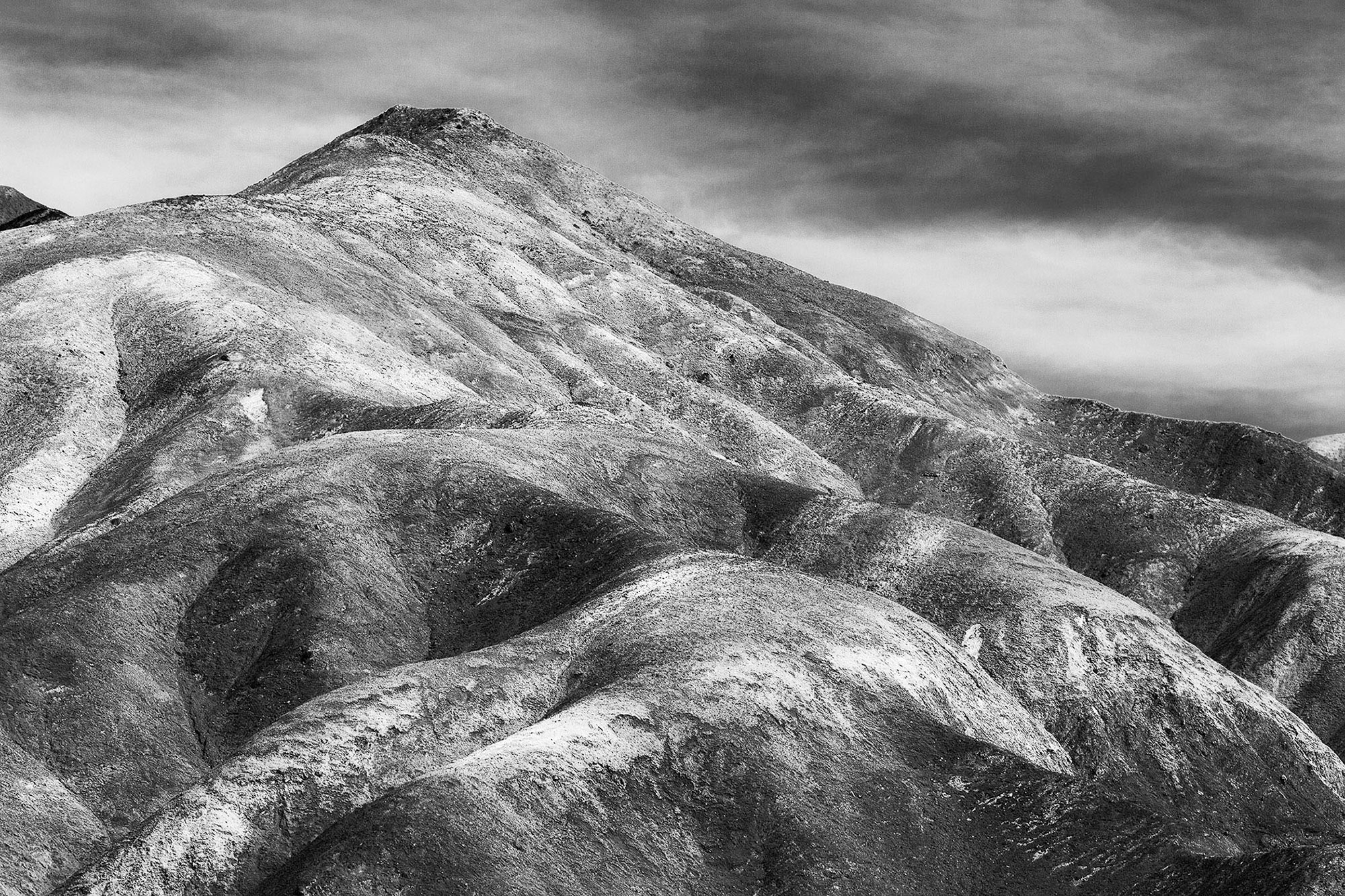 Black and White landscapes of Death Valley