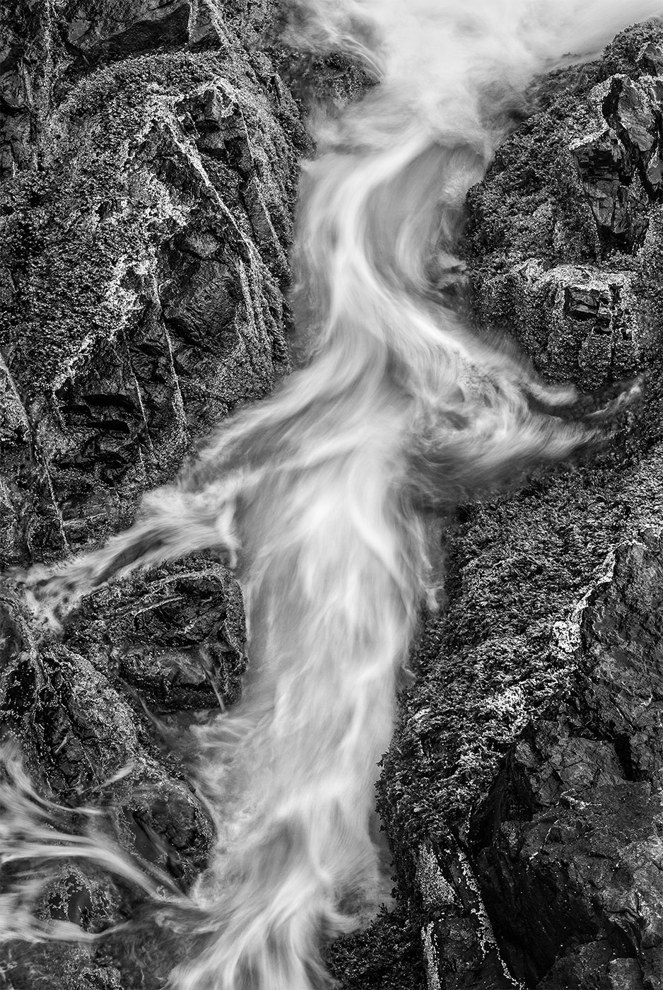 Water abstract created in Acadia-Proteus