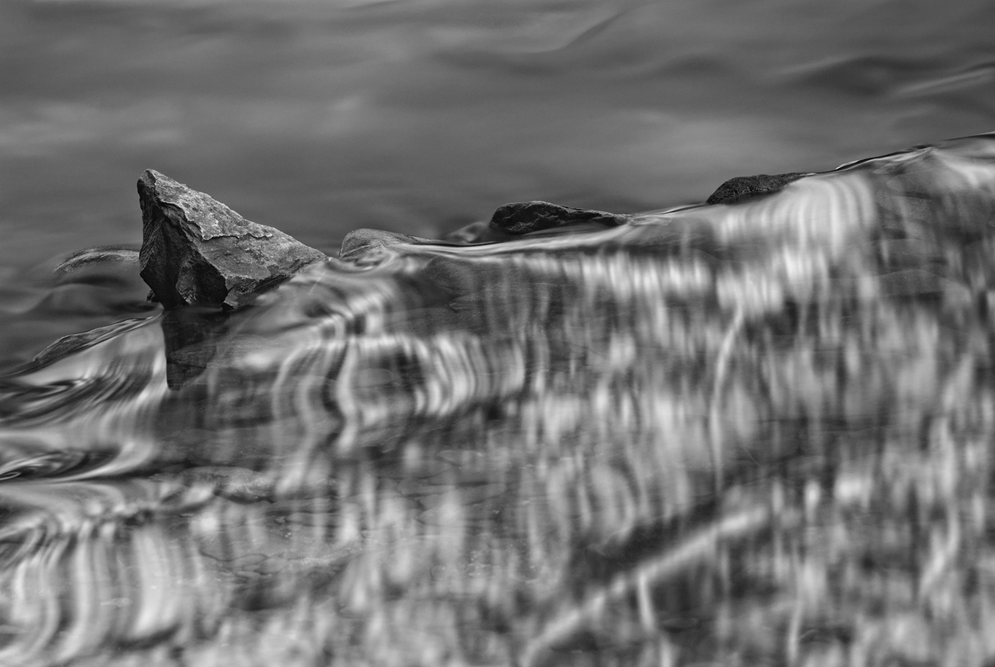 Water abstract created in Great Smoky Mountains-Spine